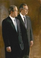 President George W. Bush & President George H. W. Bush 